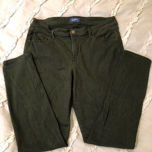 Old Navy stretch jeans.